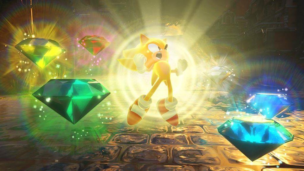 super transformation sonic the hedgehog