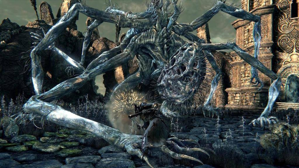 Amygdala – one of the Great Bosses in Bloodborne (Via: Bloodborne Wiki)