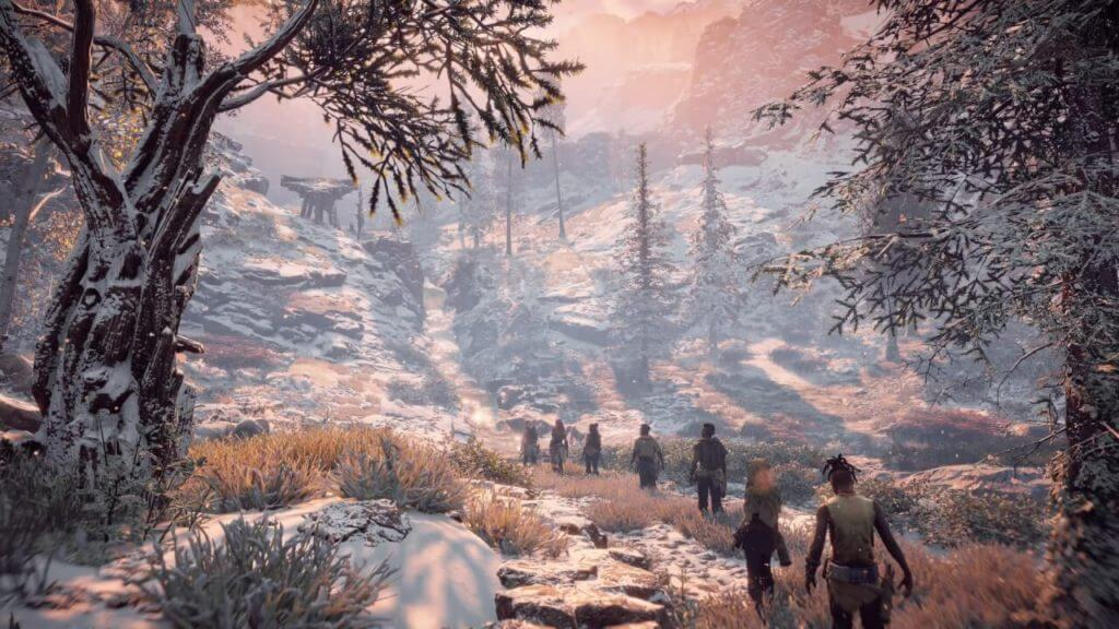 horizon zero dawn is one of the best graphics gameplay for ps4