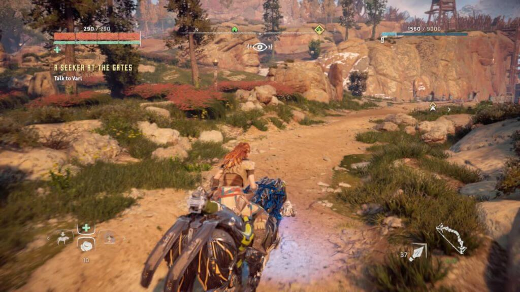 horizon zero dawn strider control