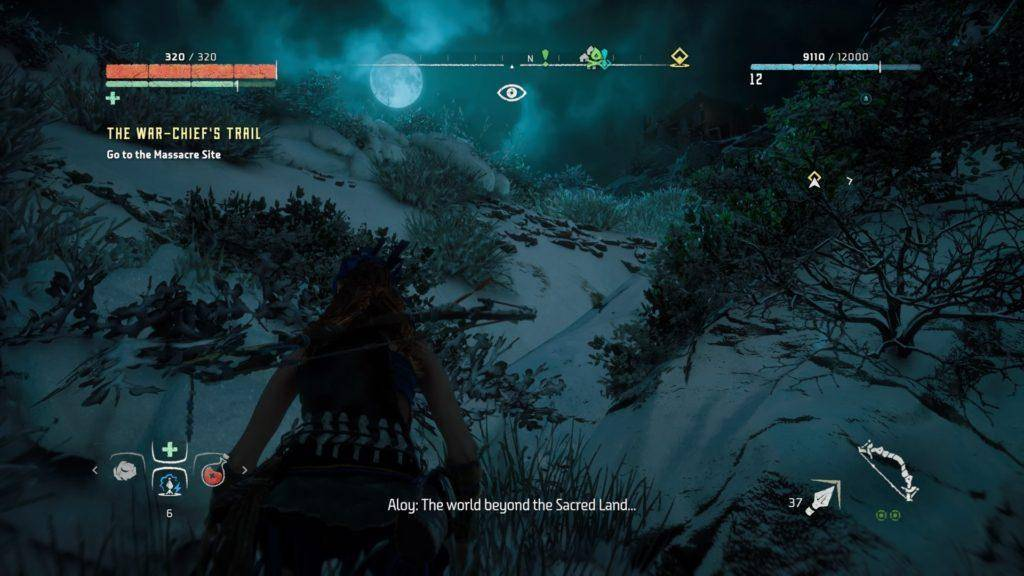 horizon zero dawn the world beyond the secret land
