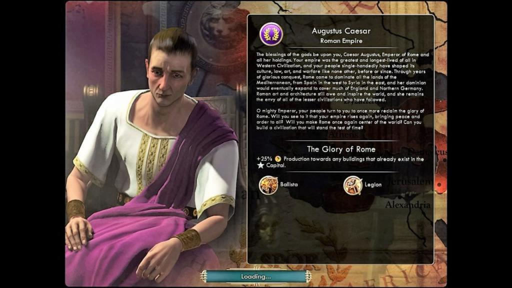 Lord Caesar with Roman Empire – my favorite leader.