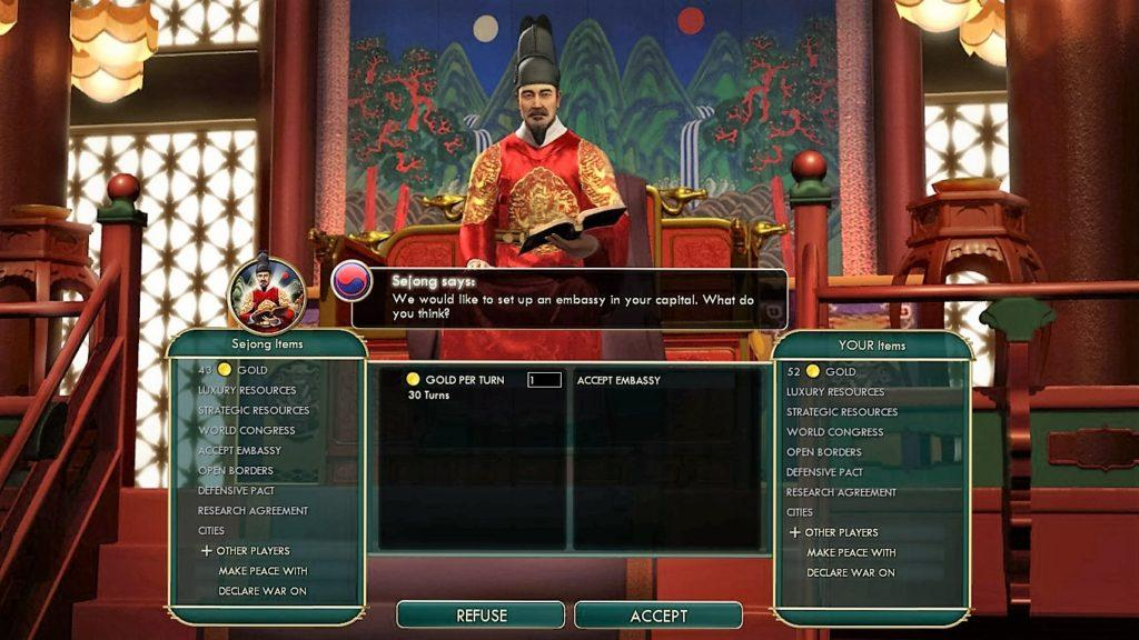 The Korean Emperor wants to place an embassy in Rome.