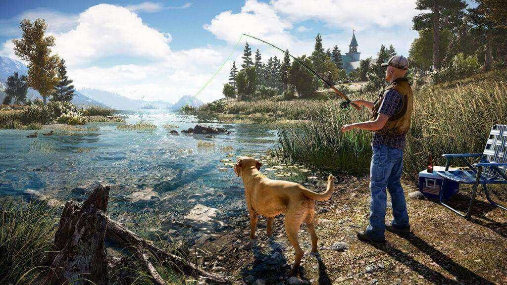 fishing in Far Cry