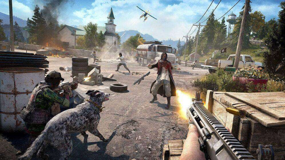 shooting far cry