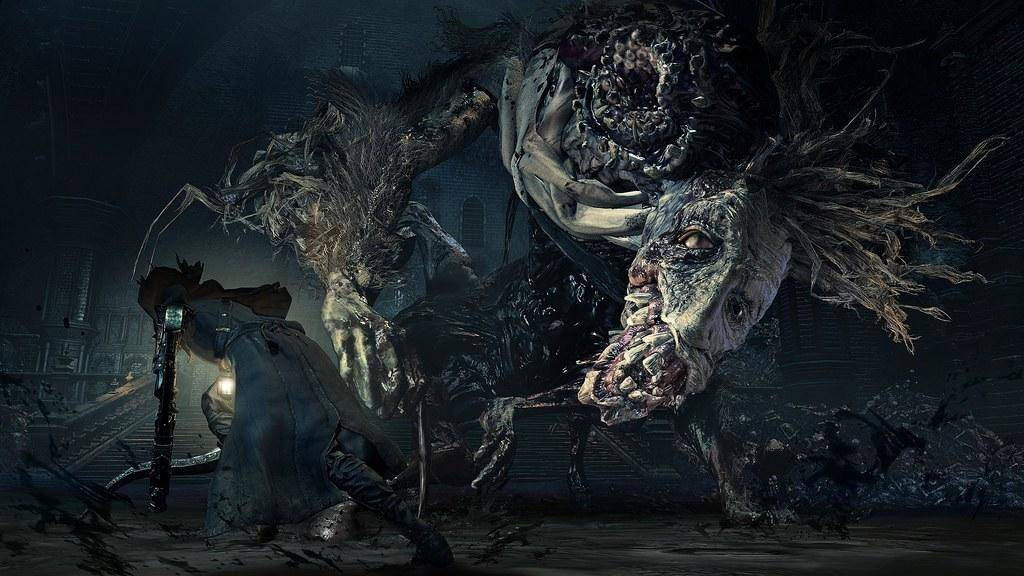 Epic battles between the Hunters and the Old Hunters Bosses. Image via Bloodborne Wiki.