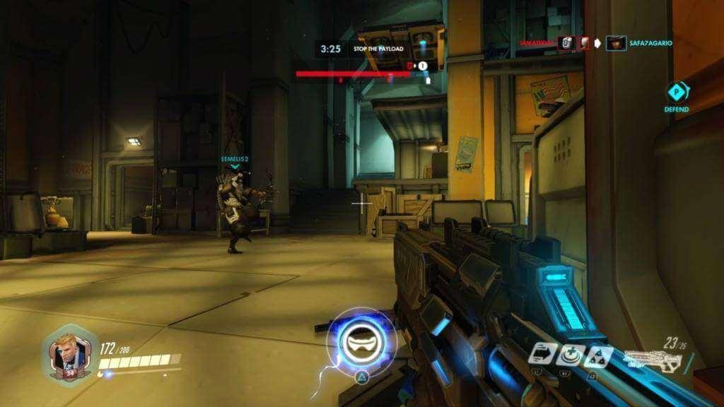 Overwatch gameplay