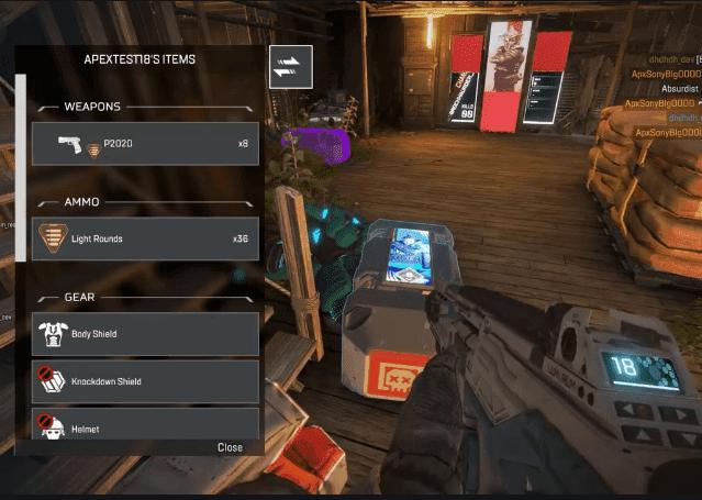 apex legends items