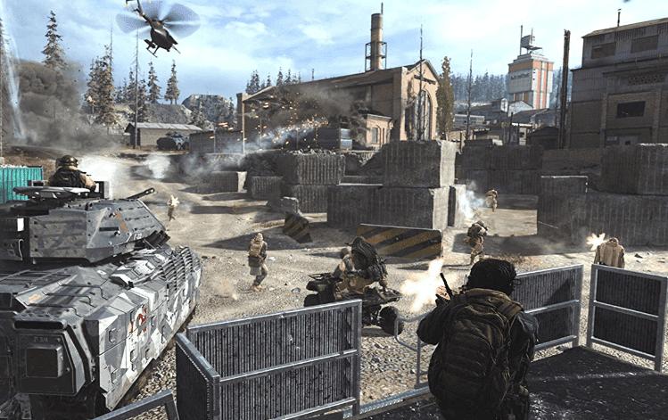 Call of Duty: Modern Warfare battlefield