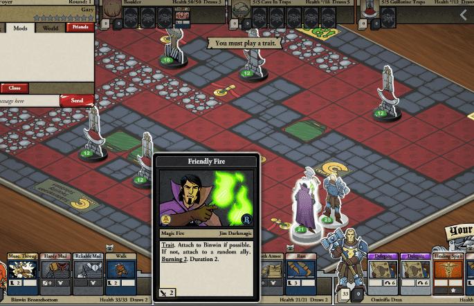 cardhunter gameplay