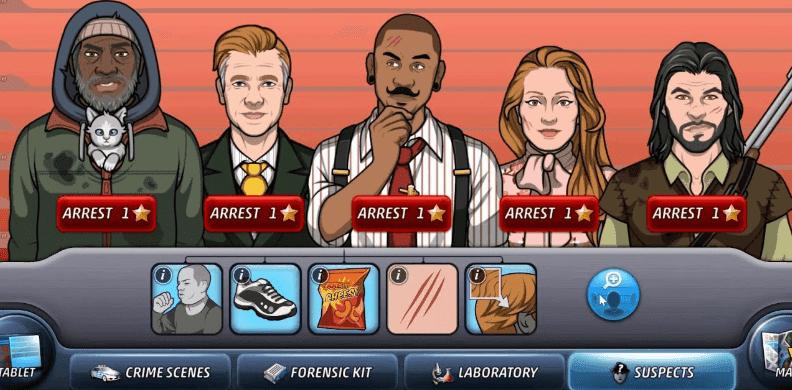 criminal case mobile brain game