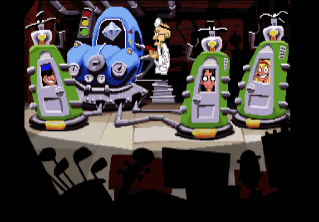 day of the tentacle remastered time travel video game