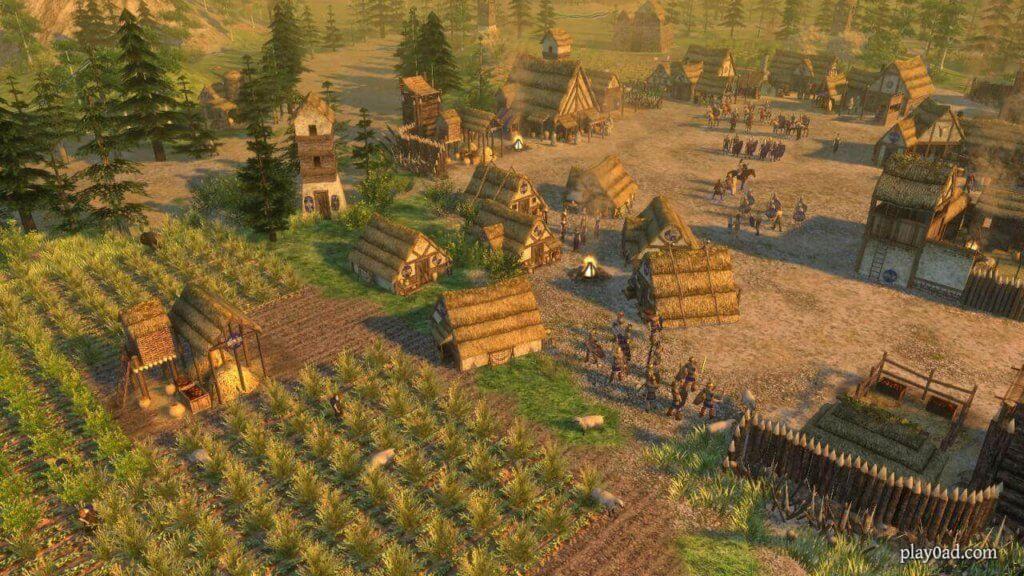 Screenshot of the Gaul Civilization in 0 A.D.