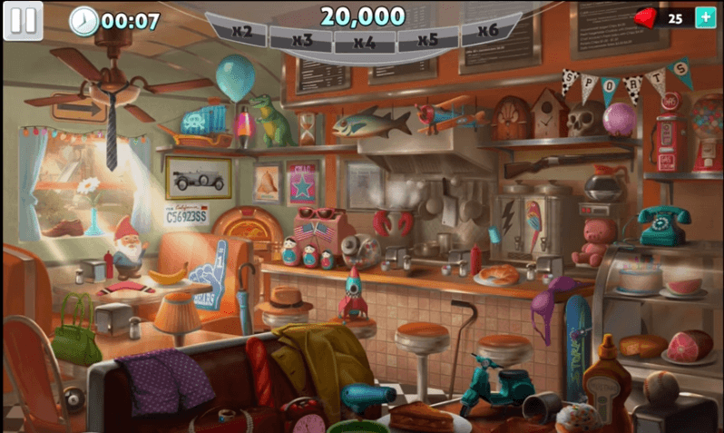 Hidden Object: Mystery Crimes gameplay