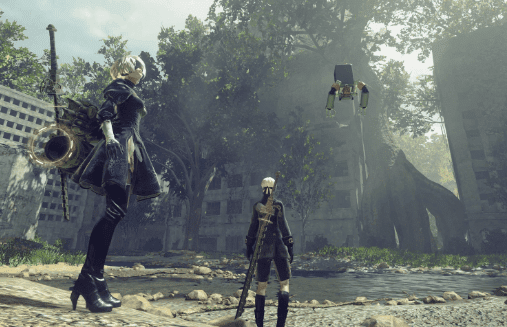 NieR: Automata best anime games xbox one