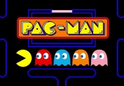 pacman video game screenshot