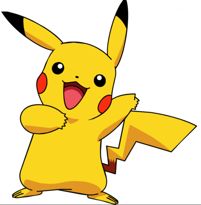 pikachu pokemon famous game character