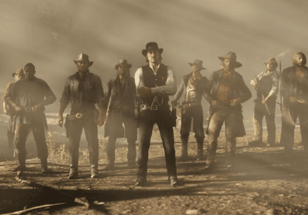 Red Dead Redemption was developed by the same game company as GTA - Rockstar Games