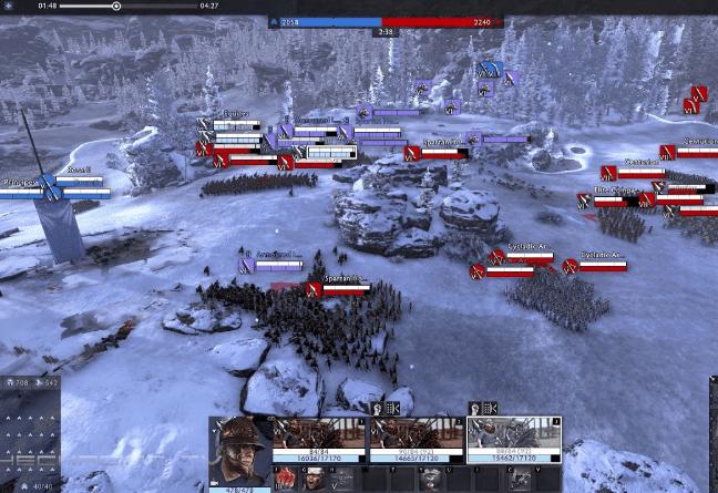 total war arena gameplay free on pc