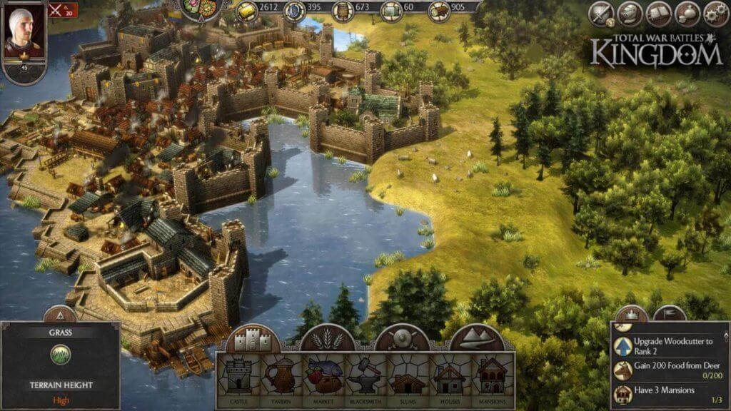 Total War Battles: Kingdom gameplay.