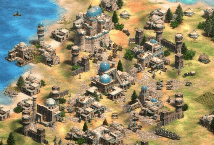 age of empires definitive edition city building game