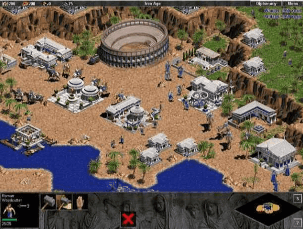 age of empires the rise of rome gameplay