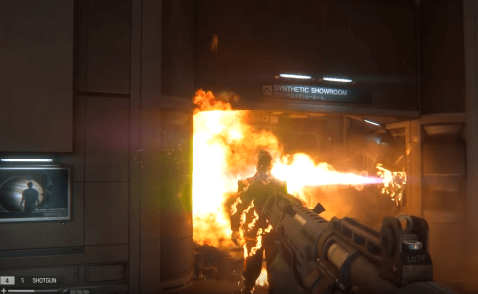 Alien: isolation one of the best video games with aliens