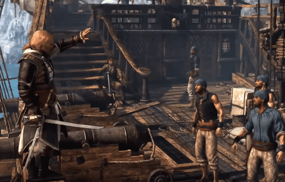 Assassin's Creed IV: Black Flag one of the best video game about pirates