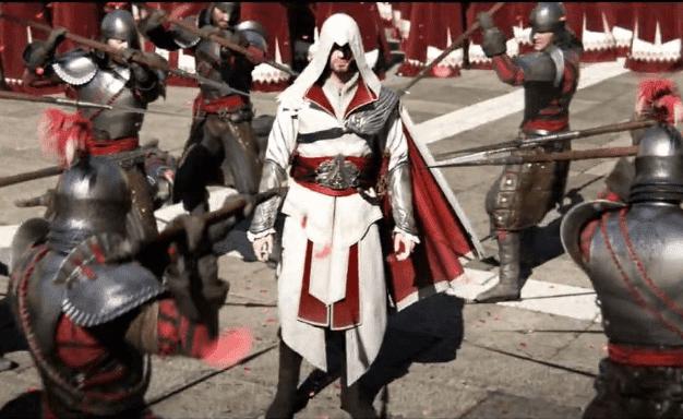 assassin creed brotherhood gameplay
