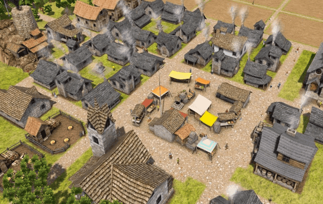 banished game about building cities
