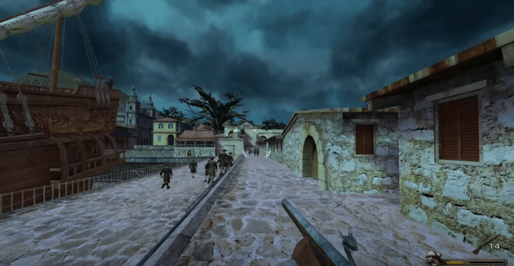 blood and gold caribbean screenshot