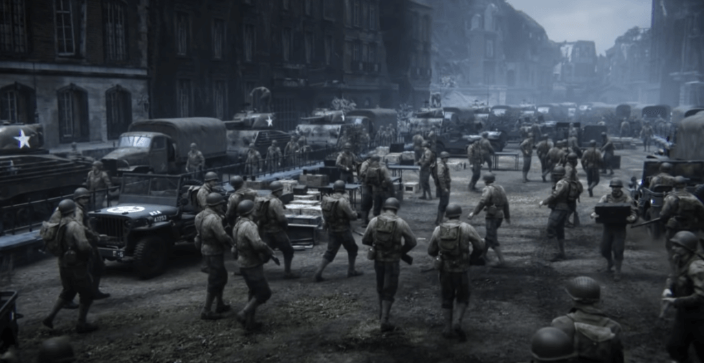 call of duty world war II one of the best video game about history