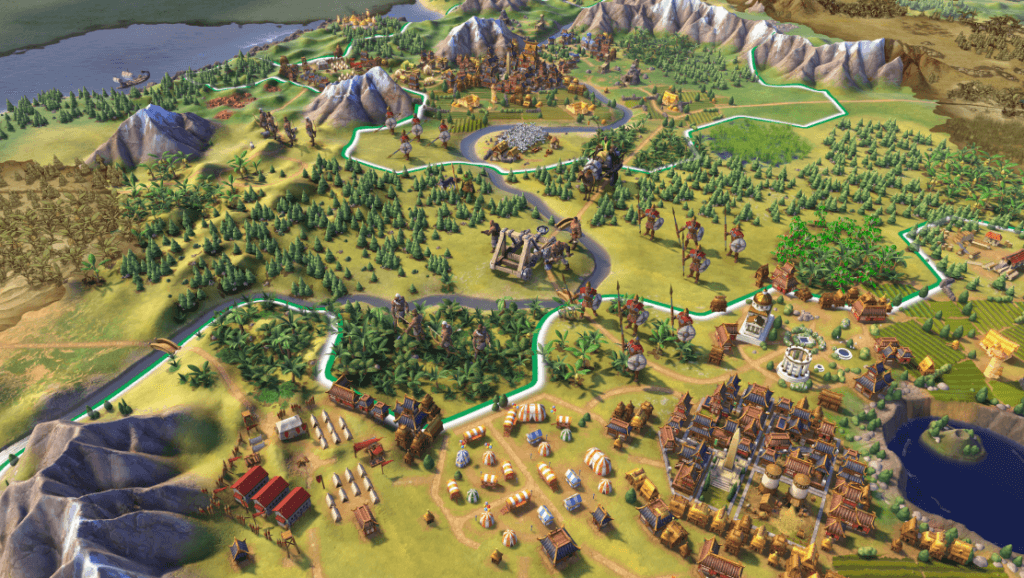 civilization VI one of the best video games about history