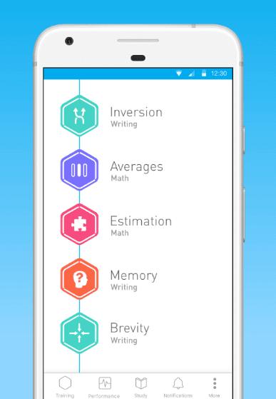 elevate brain training app game