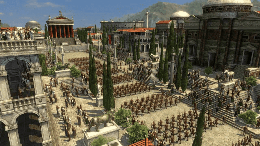 grand ages rome gameplay