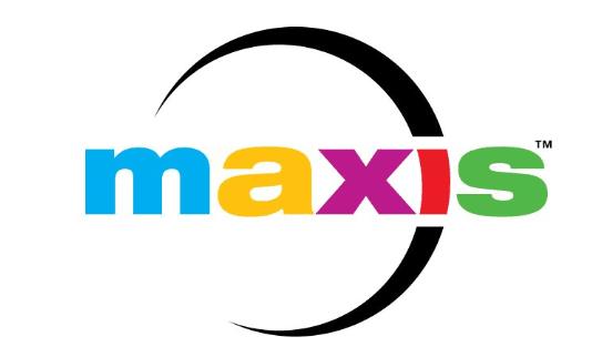 maxis game studio logo
