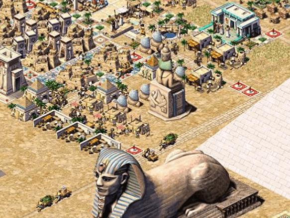 pharaoh city building game in egypt