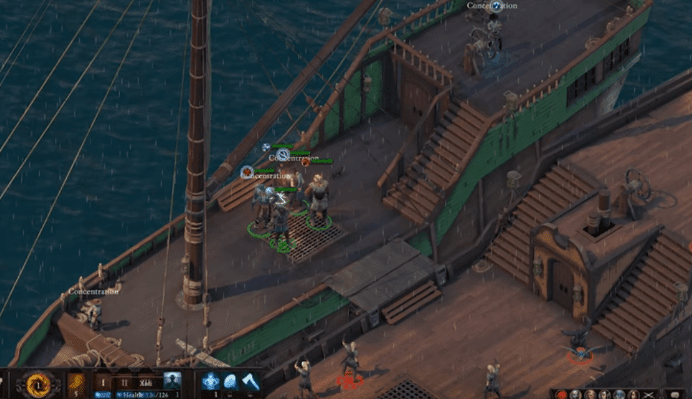 Pillars of Eternity II: Deadfire video games including pirates