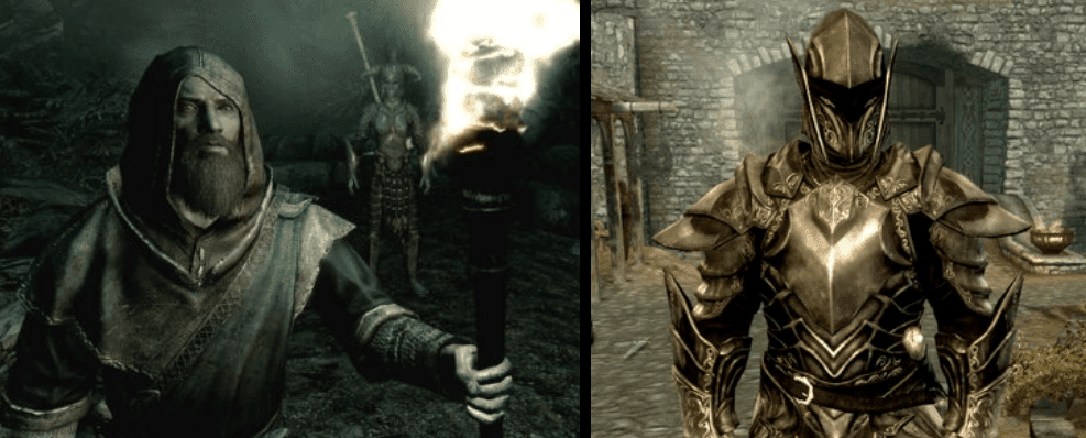 Skyrim magicians and knights