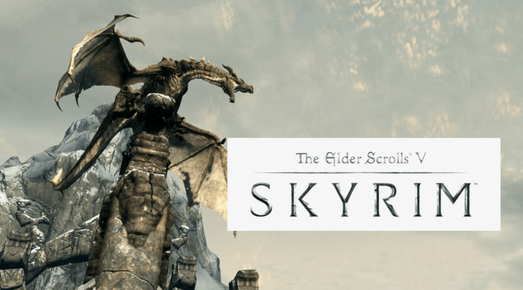 Skyrim is one of the best video games with dragons