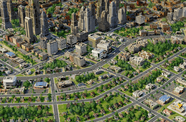 the sim city screenshot