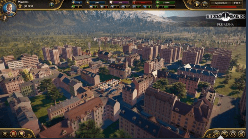 urban empire game screenshot