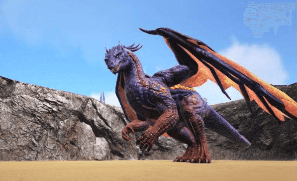 ARK: Survival Evolved dragon