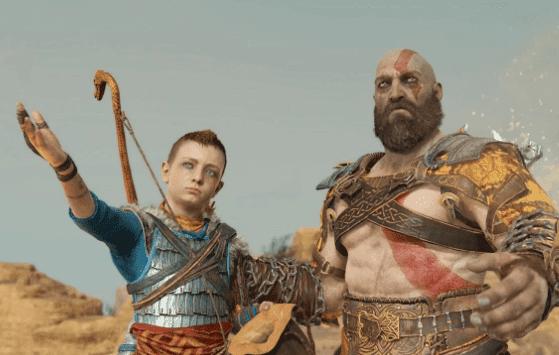 atreus and kratos in god of war