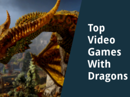 best video games with dragons