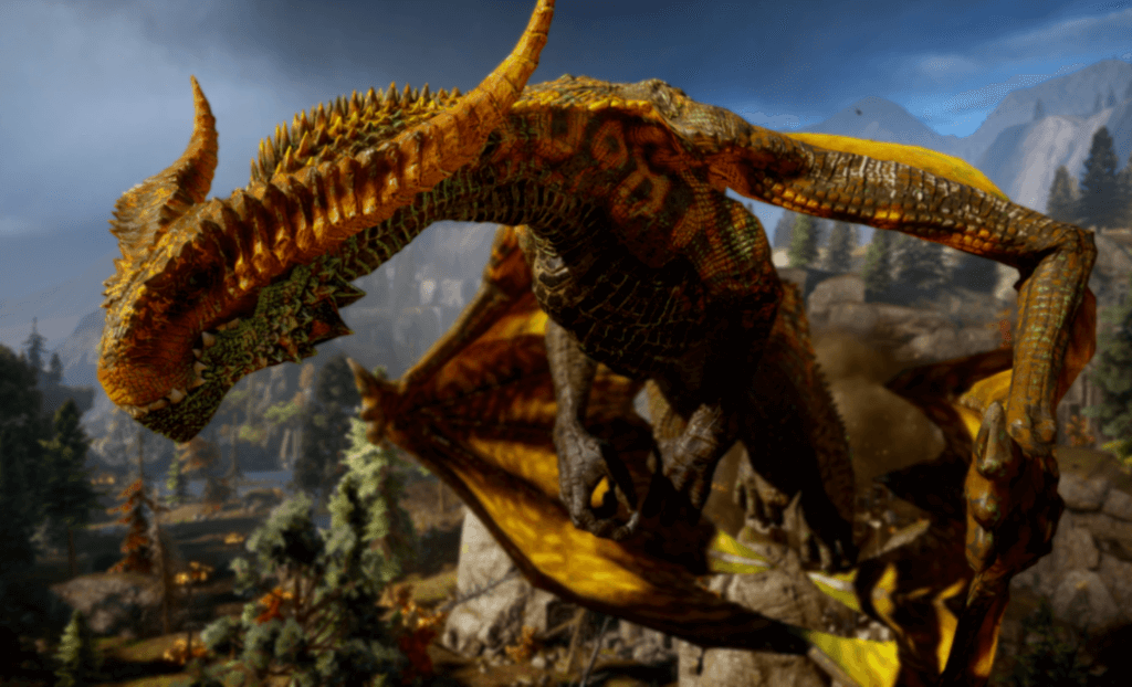 Dragon Age : Inquisition Federal Frostback one of the best dragon video game