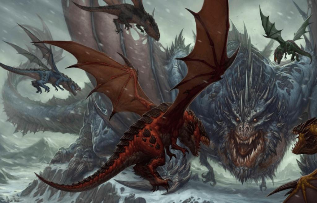 world of warcraft dragons