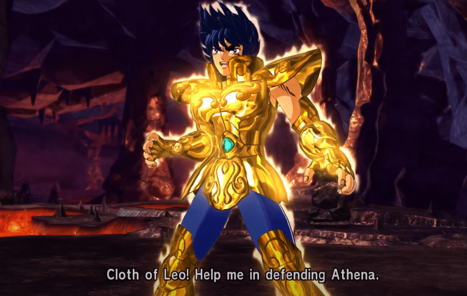 anime game on ps4 Saint Seiya: Soldier's Soul gameplay