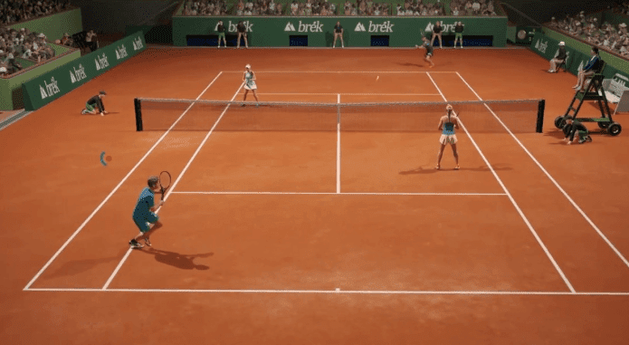 AO International Tennis one of the best sports game on ps4