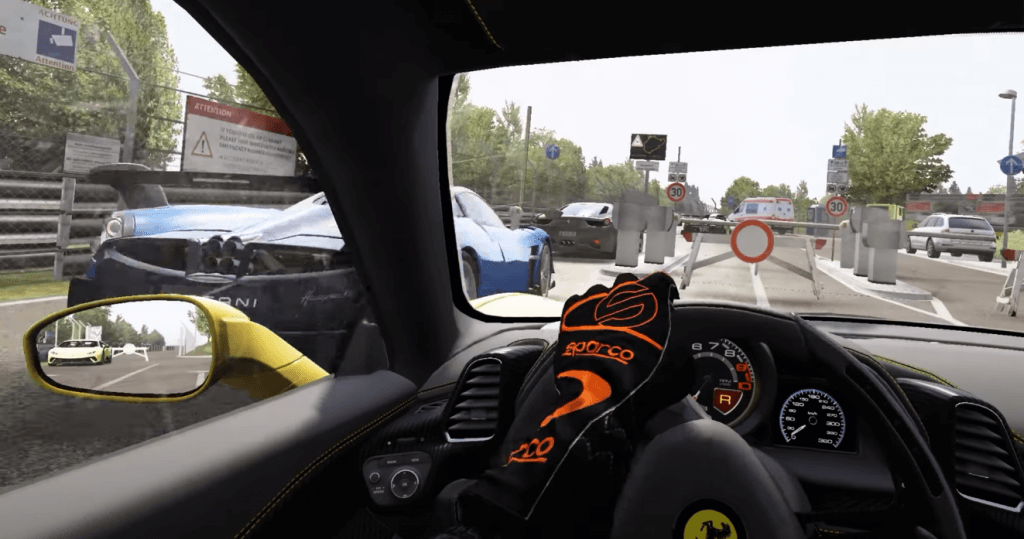 asetto corsa one of the best vr games